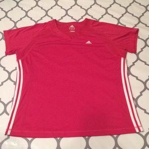 $10 nwot adidas pink tee shirt xl